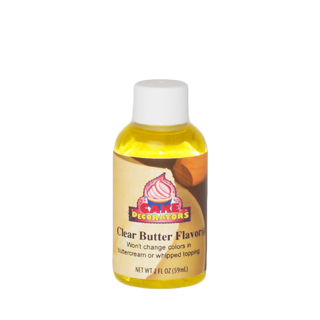 2 oz clear butter flavor